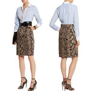 NWT Altuzzara x Target Pinstripe Shirtdress- Sz 10
